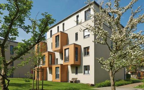 Sonderfertigung Fassadenelemente – Mehrfamilienwohnhaus