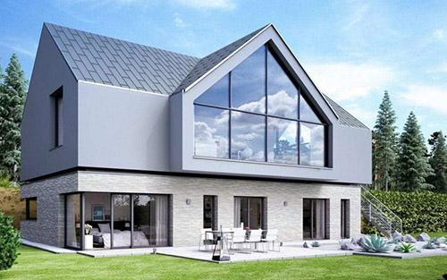 Fenster und Fassadenelemente – Wohnhaus