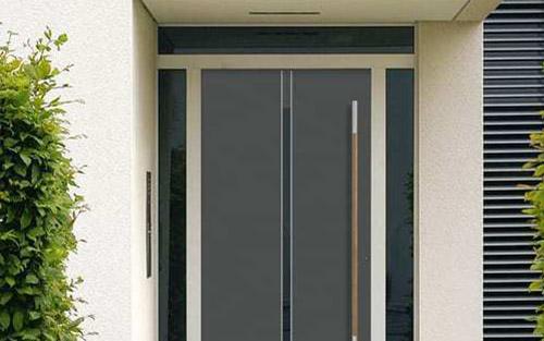 Moderne Haustür in Sonderfertigung